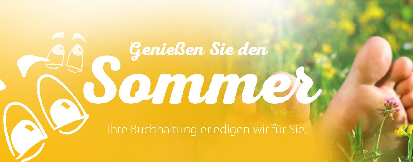 Genießen Sie den Sommer …