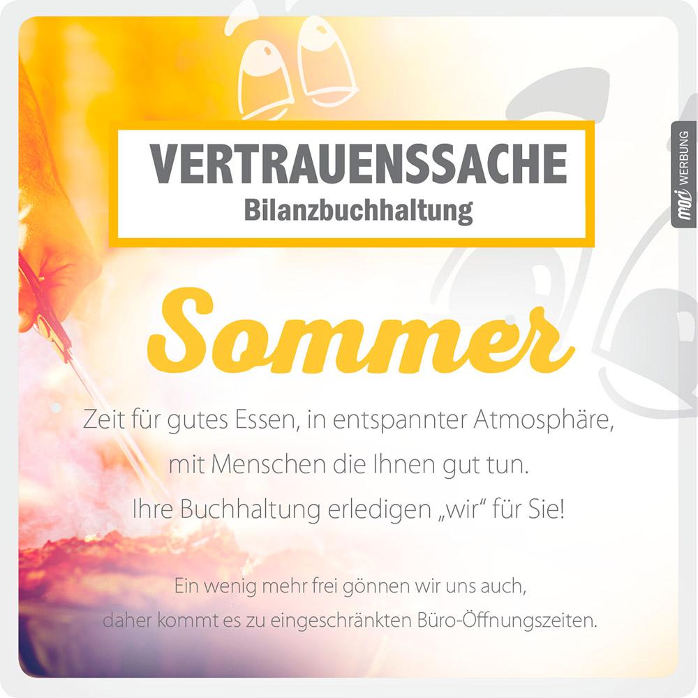 Genießen Sie den Sommer! – Vertrauenssache Bilanzbuchhaltung – Anita Wolf-Eberl