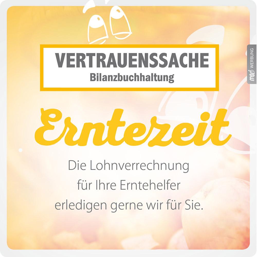 Lohnverrechnung für Erntehelfer – Vertrauenssache Bilanzbuchhaltung – Anita Wolf-Eberl